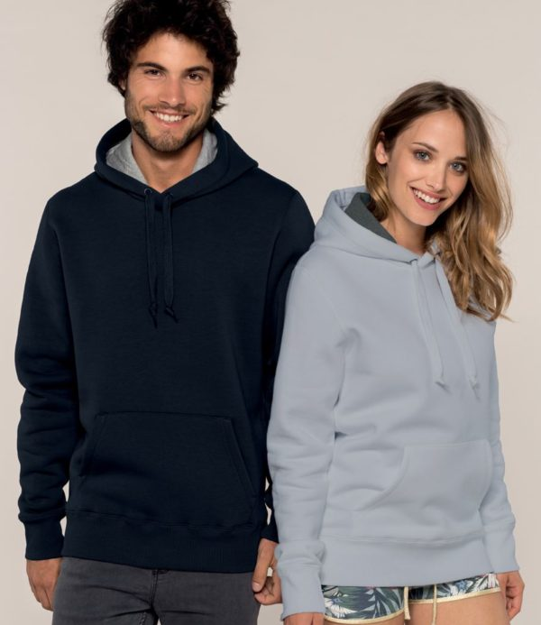 Kariban Heavy full zip contrast hoody